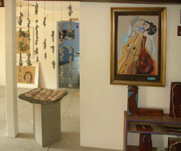 Gaia + Blåfugl udstillingssted