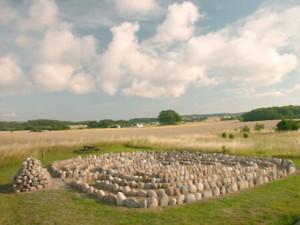 Labyrinten i Nordmarken - Indviet 2006